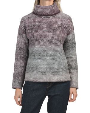 Ombre Turtleneck Sweater