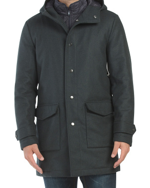 Wool Blend Field Jacket