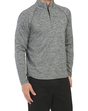 The Knockdown Quarter Zip Top