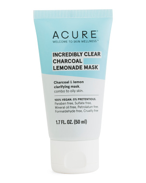1.7oz Incredibly Clear Charcoal Lemonade Mask
