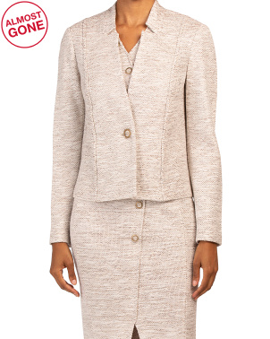 Belinda Knit Notch Collar Jacket