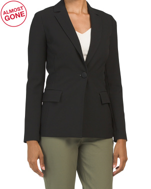 Bella Double Weave Jacket With Pockets