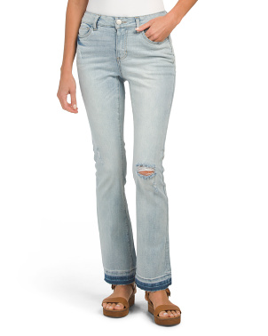 Juniors Flare Leg Denim Jeans