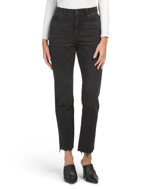 Piper High Rise Straight Leg Jeans