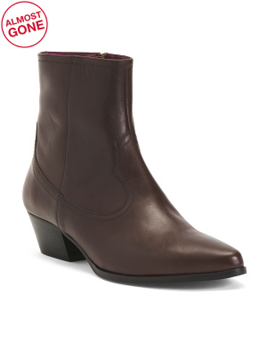 Made In Italy Calf Leather Boots