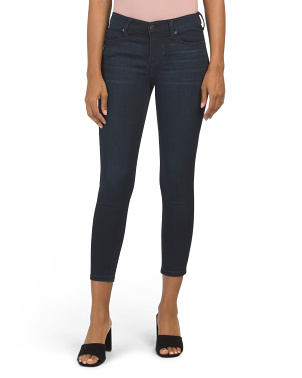 Petite Penny Ankle Skinny Jeans