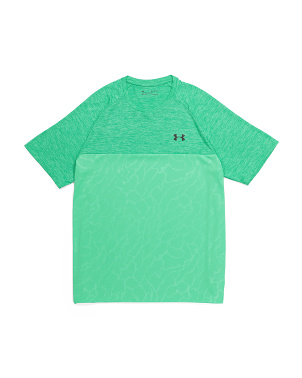 Tech Short Sleeve Embossed Tee