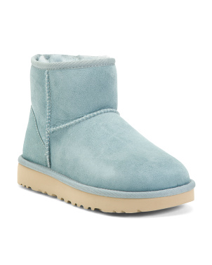 Suede Shearling Lined Boots