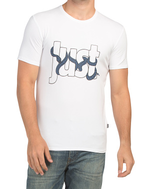 Snake Writing T-shirt