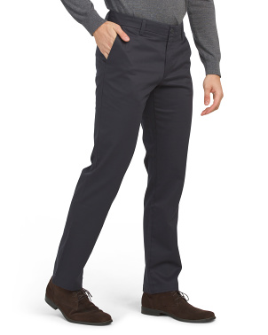 New Signature Creaseless Straight Pants