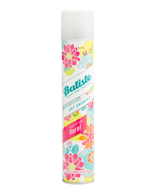 13.46oz Large Flirty Floral Dry Shampoo