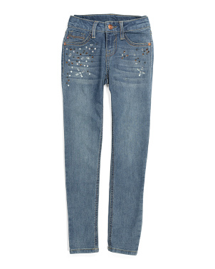 Big Girls Ankle Jeans