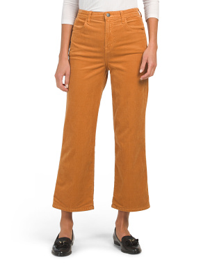 Joan High Rise Cropped Pants