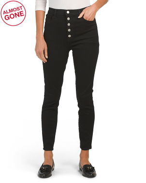 Lillie High Rise Cropped Skinny Jeans