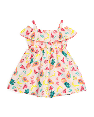Toddler Girls Fruit Dress