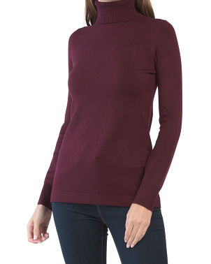 Baby Soft Turtleneck Tunic Sweater