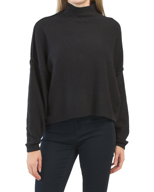 Juniors Recovery Mock Neck Sweater