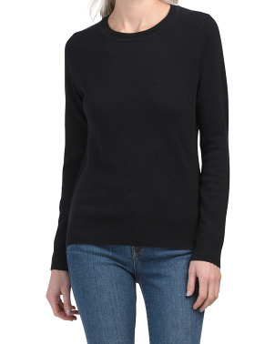 Cashmere Crew Neck Pullover Sweater