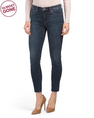 Ava Mid Rise Skinny Jeans