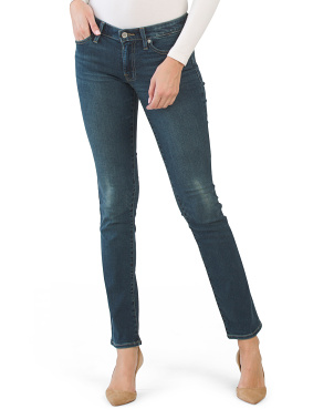 Sweet Mid Rise Straight Leg Jeans