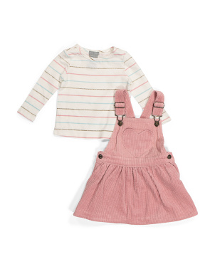 Baby Girls Corduroy Jumper Set
