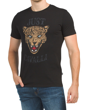 Lion Head Printed Tee