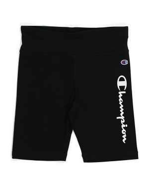 Big Girls Active Logo Bike Shorts