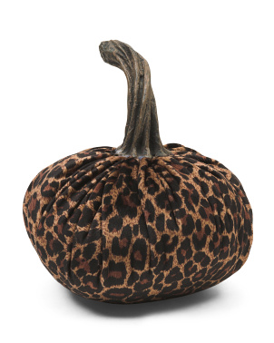6in Animal Print Pumpkin