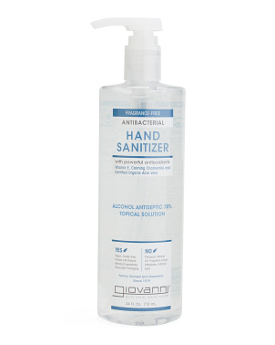 24oz Antibacterial Hand Sanitizer Pump