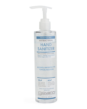 8.5oz Antibacterial Hand Sanitizer