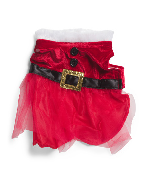 Miss Santa Pet Dress