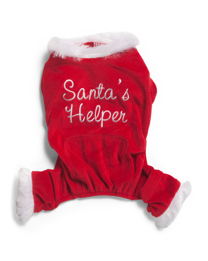 Santas Helper Pet Pajamas