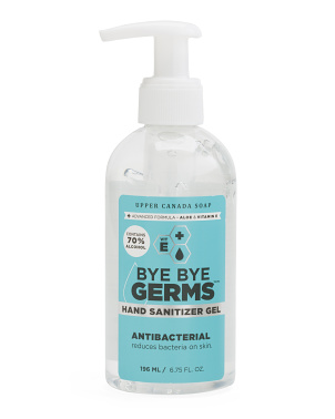 6.75oz Antibacterial Hand Sanitizer Gel