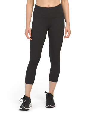 Lux High Rise Basic Capris