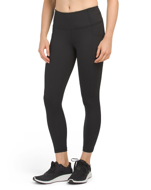 Lux High Rise Side Pocket Ankle Leggings