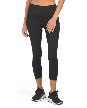 Lux High Rise Side Pocket Capris