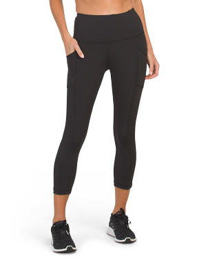 Interlink High Rise Side Pocket Capris