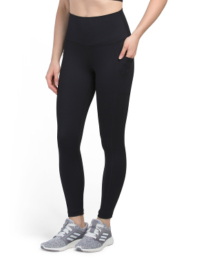 Powerflex Elastic Free Hi Rise Ankle Leggings