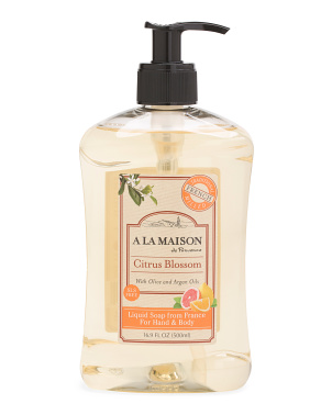 Made In France 16.9oz Citrus Blossom Liquid Soap