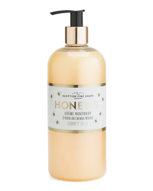 17.5oz Honey B Creme Hand Wash