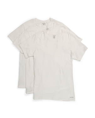 3pk Cotton Crew Neck Undershirts