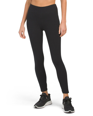 High Waist Moisture Wicking Ankle Leggings