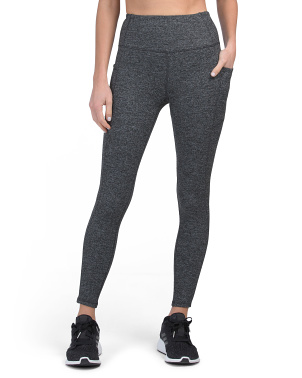 Ultra High Waist Leggings With Double Pockets