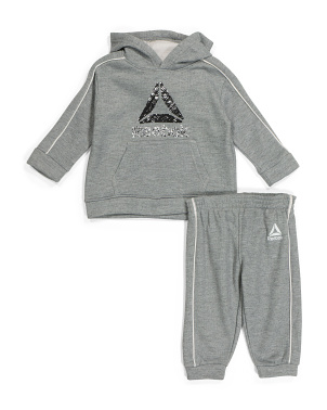 Infant Boys Fleece Hoodie And Pant Set