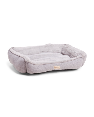Medium Cuddle Chaise Orthopedic Memory Foam Dog Bed