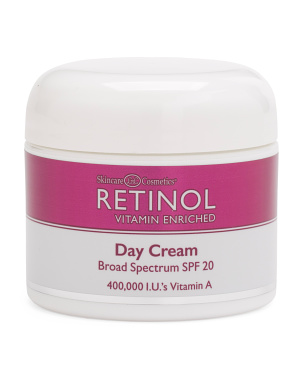2.25oz Spf20 Retinol Day Cream