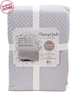 Pick Stitch Quilt Set