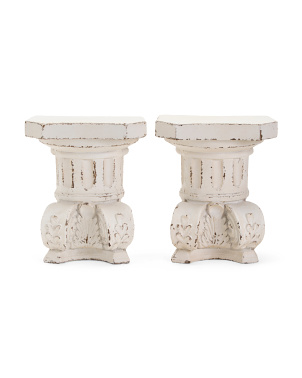Set Of 2 Wall Sconce Bookends