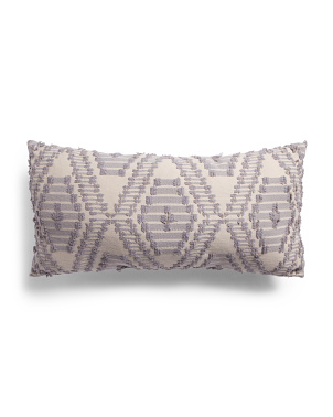 16x32 Oversized Geo Pattern Pillow