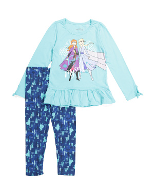 Little Girls Frozen 2 Legging Set